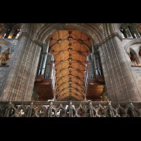 Glasgow, St. Mungo Cathedral, Orgel in der Vierung
