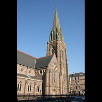 Glasgow, St. Mary's Episcopal Cathedral, Turm und Querhaus