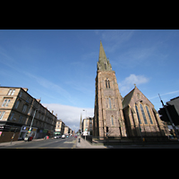 Glasgow, St. Mary's Episcopal Cathedral, Chor und Turm