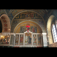 London, Westminster Cathedral, Mosaiken