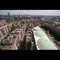 London, Westminster Cathedral, Aussicht vom Turm