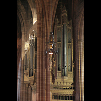 Liverpool, Anglican Cathedral, Rechter Orgelprospekt
