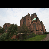 Liverpool, Anglican Cathedral, Ansicht vom Chor aus