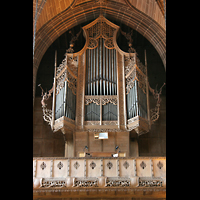 Liverpool, Anglican Cathedral, Orgel in der Lady Chapel