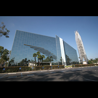 Garden Grove, Christ Cathedral (''Crystal Cathedral''), Seitenansicht