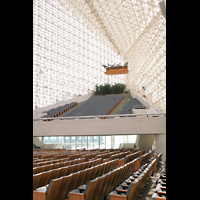 Garden Grove, Christ Cathedral (''Crystal Cathedral''), Orgelempore mit Trompeteria