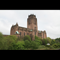 Liverpool, Anglican Cathedral, Gesamtansicht der Kathedrale