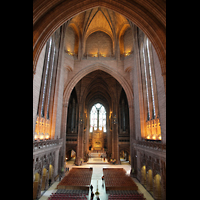 Liverpool, Anglican Cathedral, Zentralraum