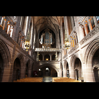 Liverpool, Anglican Cathedral, Lady Chapel in Richtung Orgel