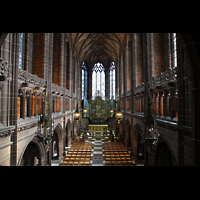 Liverpool, Anglican Cathedral, Lady Chapel in Richtung Chor