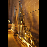 Liverpool, Anglican Cathedral, Pfeifen der Trompette Militaire