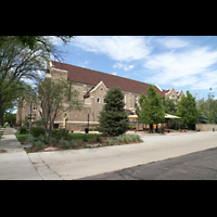 Denver, Montview Boulevard Presbyterian Church, Seitenansicht
