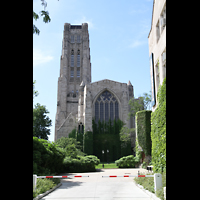 Chicago, University, Rockefeller Memorial Chapel, Ansicht vom Chor aus