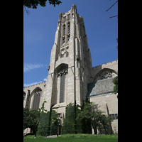 Chicago, University, Rockefeller Memorial Chapel, Turm