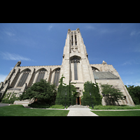Chicago, University, Rockefeller Memorial Chapel, Seitenansicht