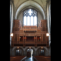 Chicago, University, Rockefeller Memorial Chapel, Orgel auf der Westempore
