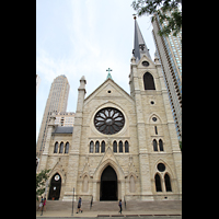 Chicago, Cathedral of the Holy Name, Fassade