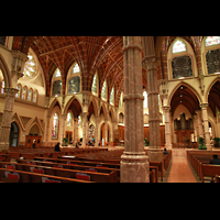 Chicago, Cathedral of the Holy Name, Innenraum mit Chororgel