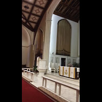 Hanover, St. Matthew's Lutheran Church, Orgel, linke Seite